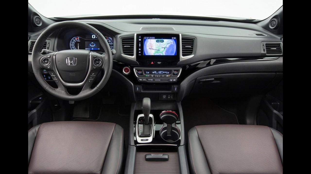"""Salão de Detroit: Honda Ridgeline mantém monobloco, mas estreia visual """"normal"""""""