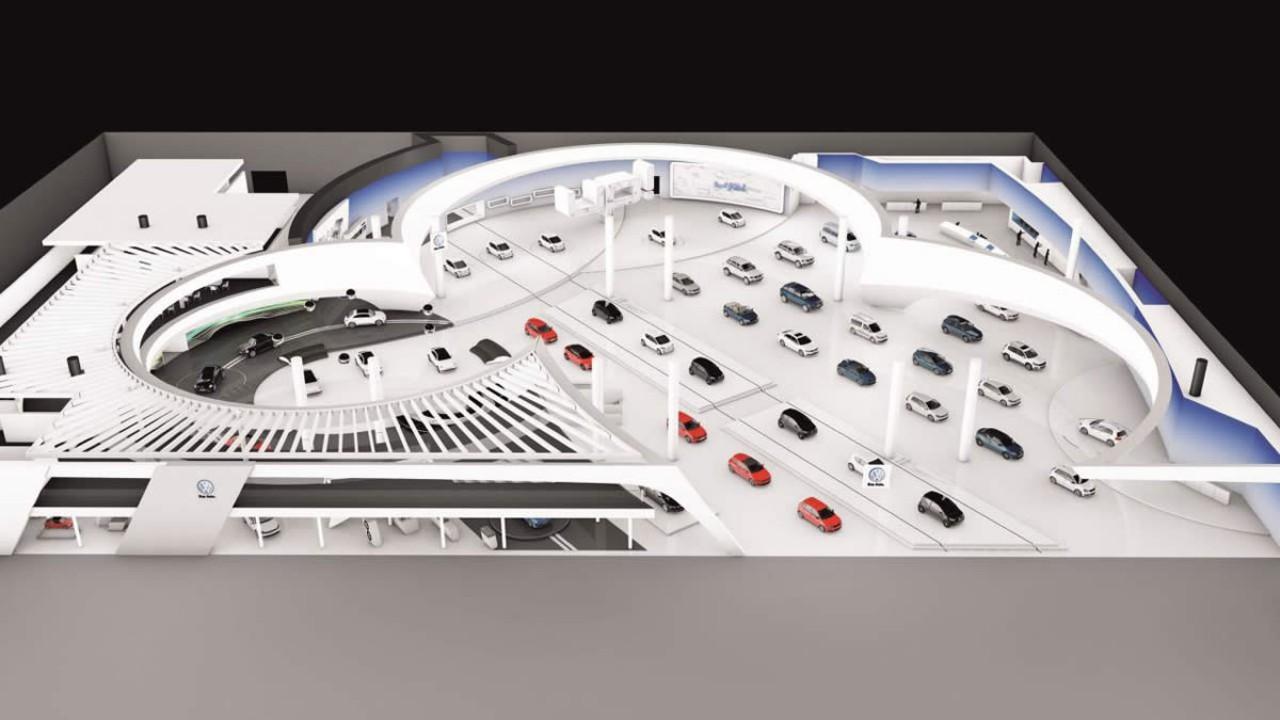 Volkswagen mostrará 54 modelos em estande gigante no Salão de Frankfurt