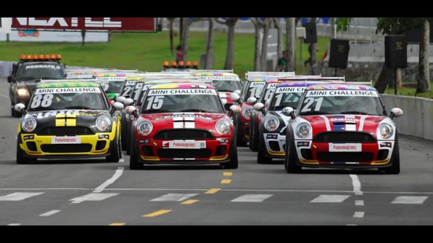 MINI Challenge Cup disputa sua primeira corrida de rua em 2011