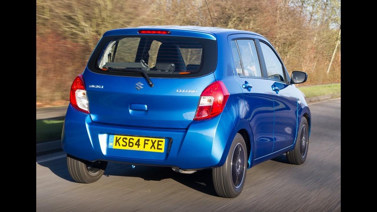 """Suzuki Celerio """"afunda freio"""" e tem vendas suspensas no Reino Unido"""
