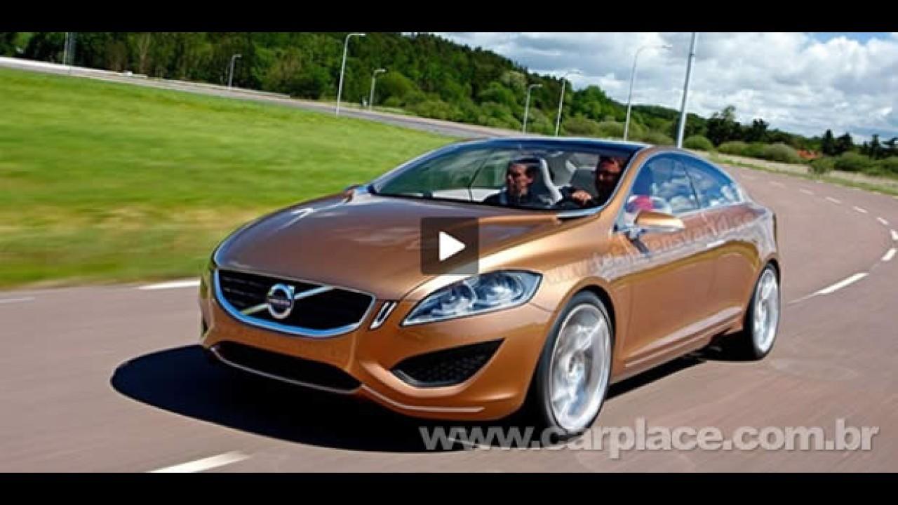 VÍDEO: Veja detalhes do 1º vídeo que mostra o impressionante Volvo S60 Concept em ação