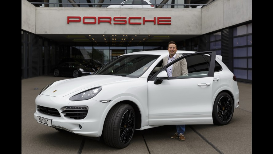 Porsche Cayenne alcança marca de 500 mil unidades produzidas