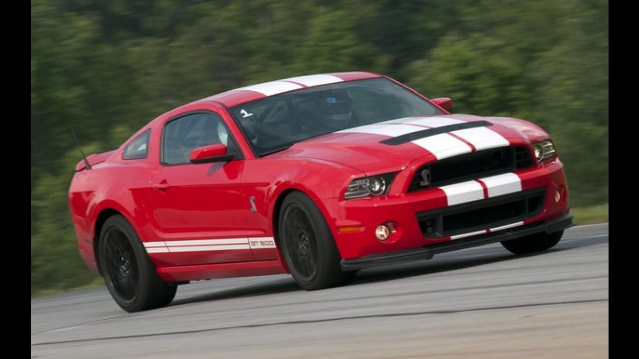 Novo Ford Mustang global será exibido no dia 5 de dezembro