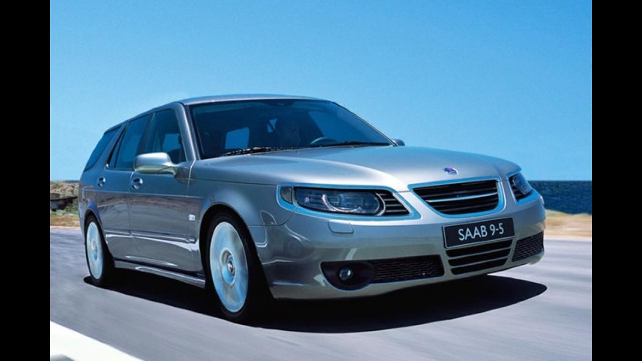 Facelift für Saab 9-5