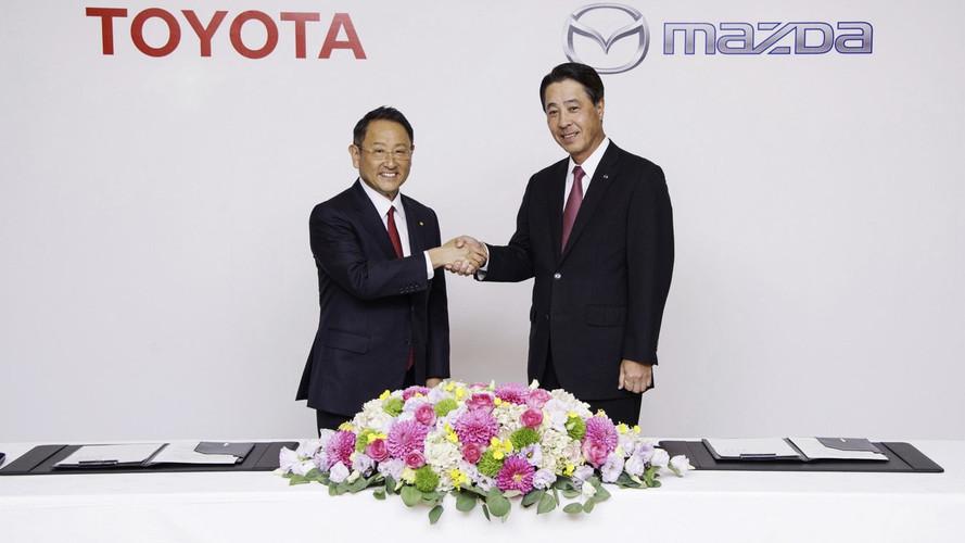 Toyota compra 5% da Mazda e acerta fábrica conjunta nos EUA