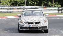 New BMW M3 spy photos from the Nurburgring