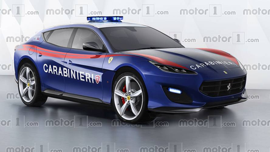 Ferrari SUV: ¿y si llegase a la policía italiana?