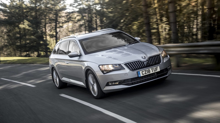Skoda Superb Break blindée