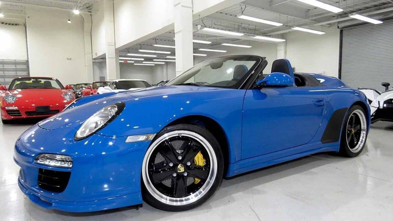 2011 Porsche 911 Speedster For Sale Photo