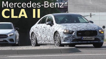 New Mercedes CLA screenshots from spy video