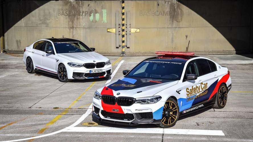 BMW M5 MotoGP Safety Car Debuts With M Performance Parts