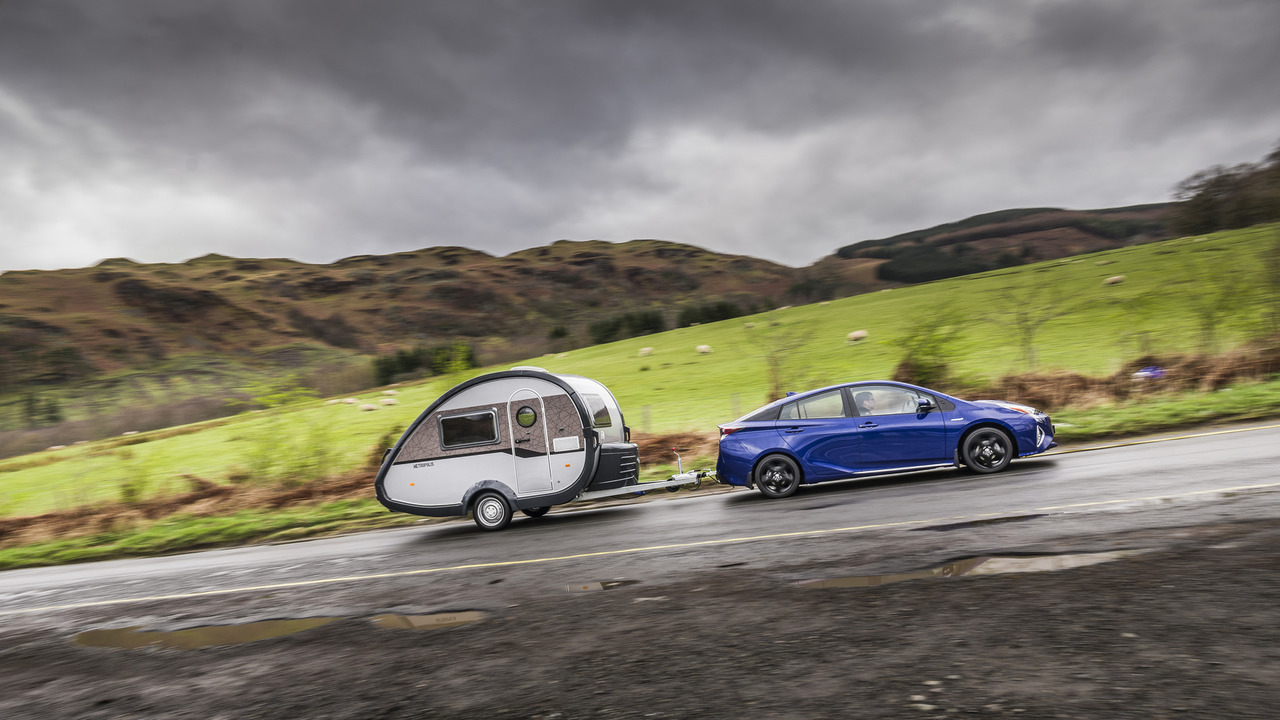 Toyota Prius now capable of towing trailer