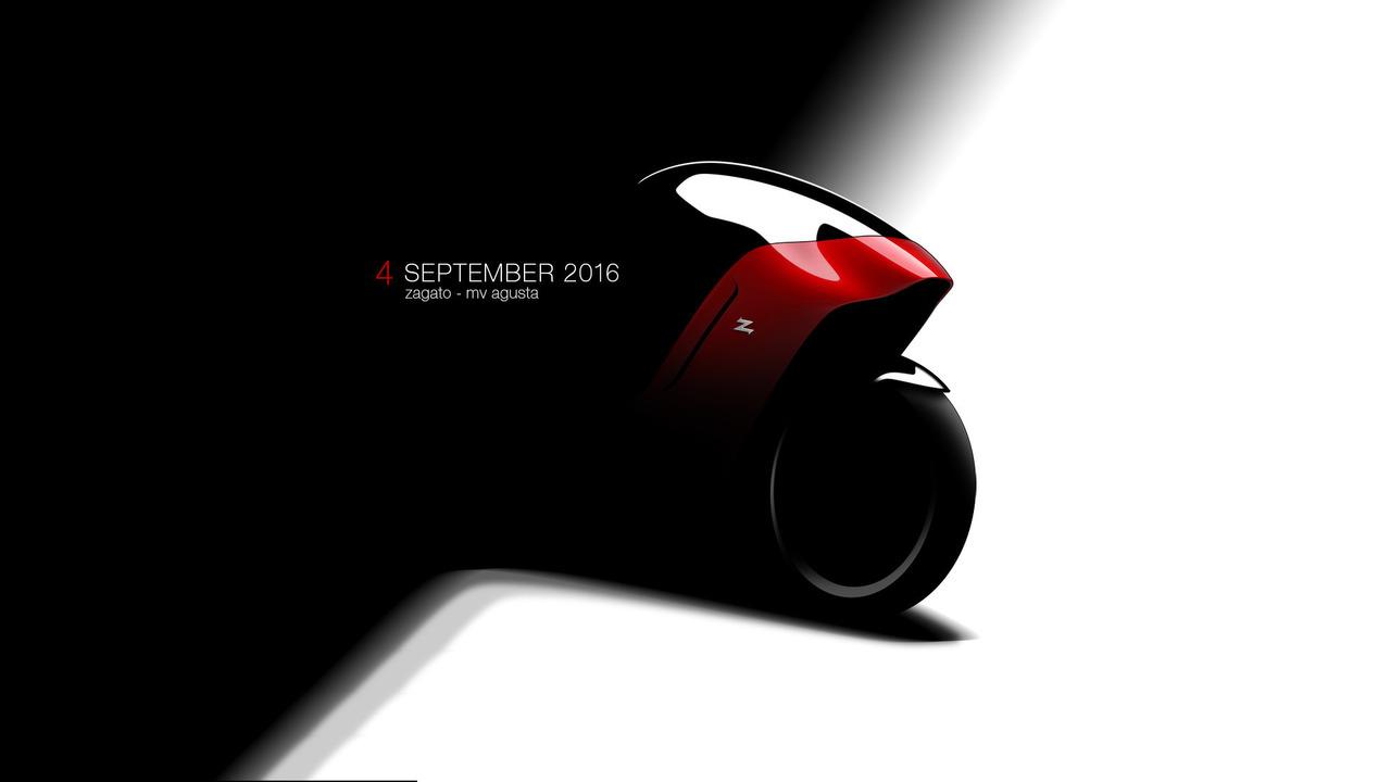 MV Agusta and Zagato motorcycle teaser