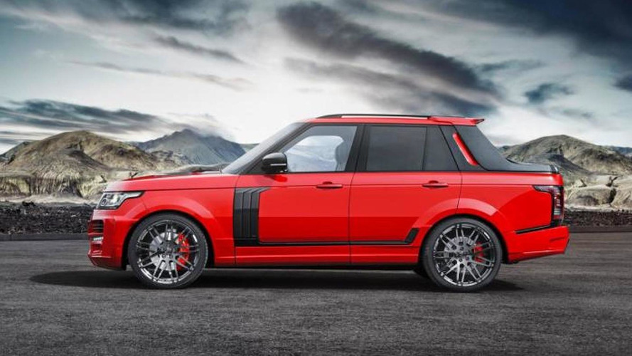 Range Rover pickup by Startech is not a belated April Fools' Day joke