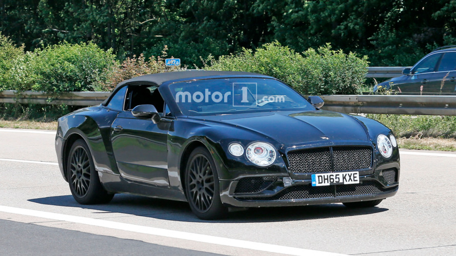 Camouflaged Bentley Continental GTC teases future of droptop luxury