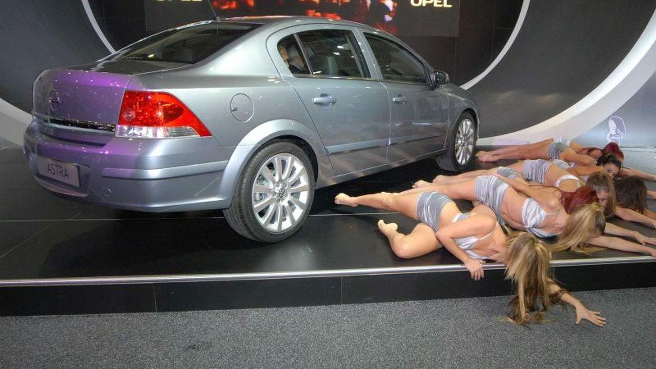 Opel Astra Sedan at Istanbul Motor Show