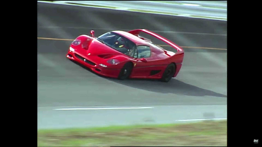 Best Motoring Ferrari F40 F50 Lamborghini Diablo Video