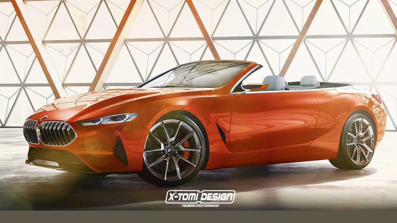 BMW Serie 8 Cabrio Concept
