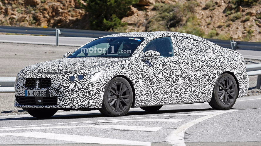Peugeot 508 Spied Looking Stylish In Tons Of Camo