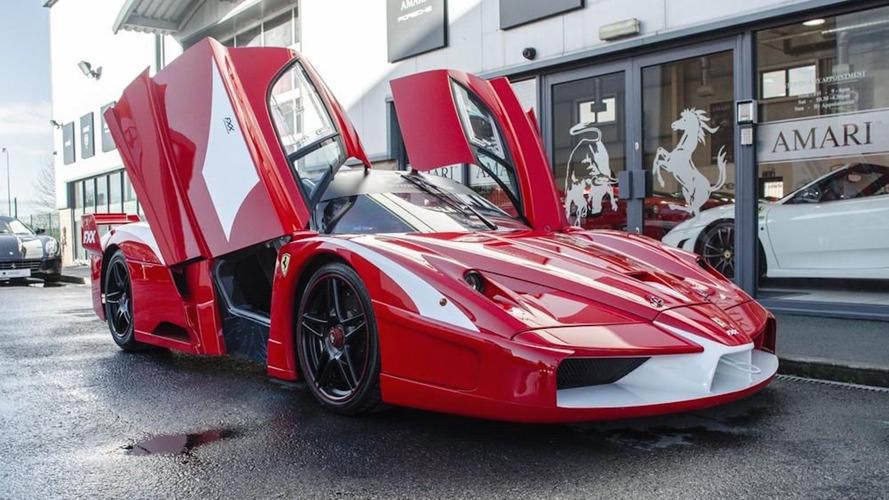 La seule Ferrari Enzo FXX homologuée pour la route est à vendre