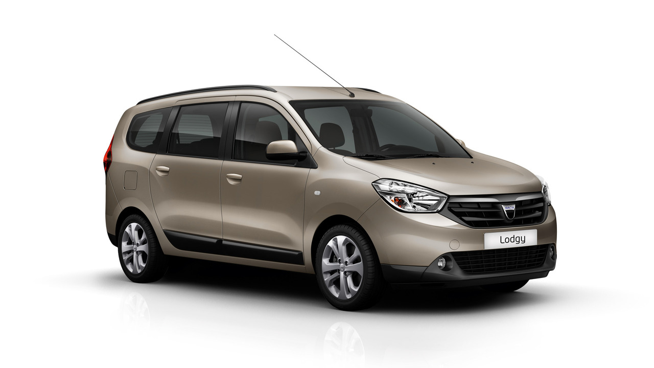 Dacia Lodgy marrón maletero