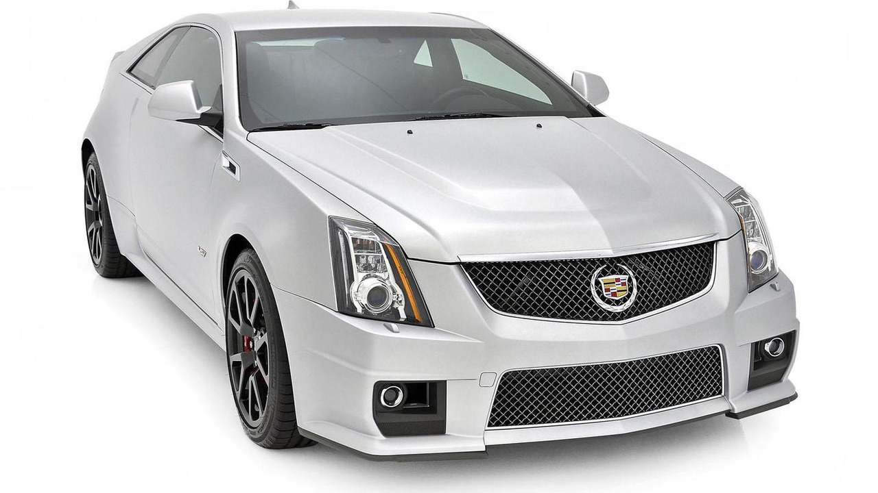 Cadillac CTS-V Coupe Silver Frost Edition 15.2.2013