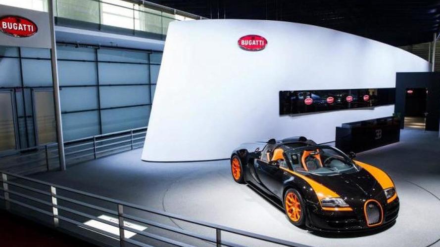 On-board video with Bugatti Veyron 16.4 Grand Sport Vitesse WRC Edition