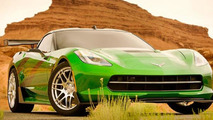 Corvette Stingray for Transformers 4