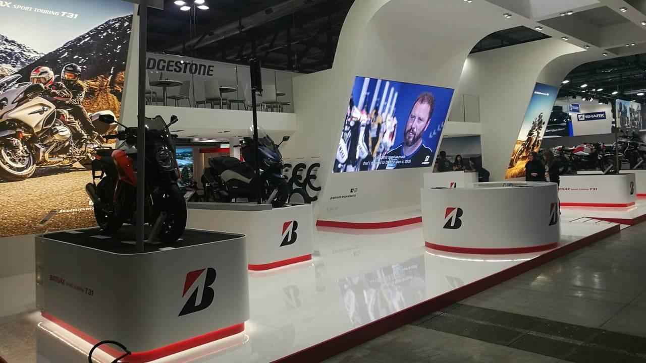 Nuevos neumáticos Bridgestone presentados en el Eicma 2017