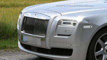 2014 Rolls-Royce Ghost facelift spy photo 16.07.2013