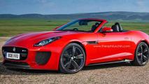 Jaguar F-Type RS rendering 16.7.2013