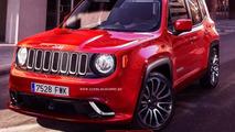 Jeep Renegade SRT rendering