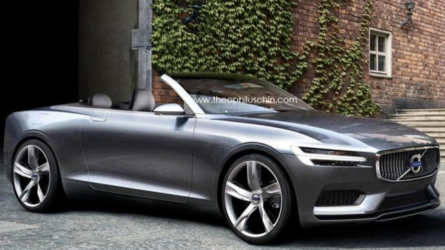 Volvo C70 replacement rendered