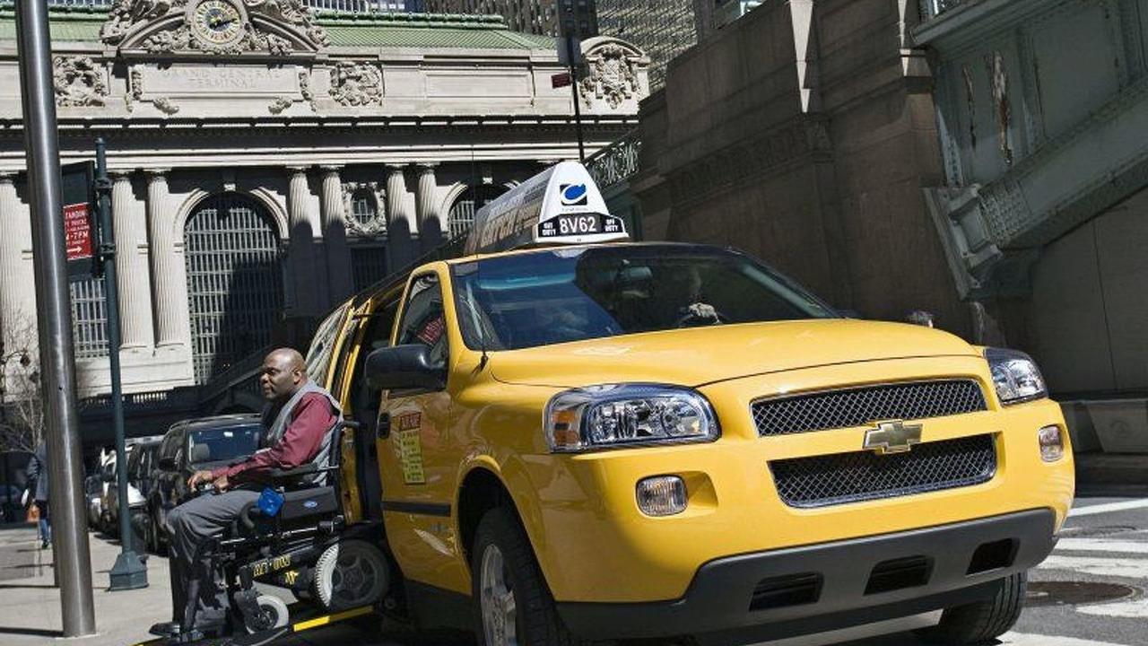 Chevrolet Uplander Taxi Van