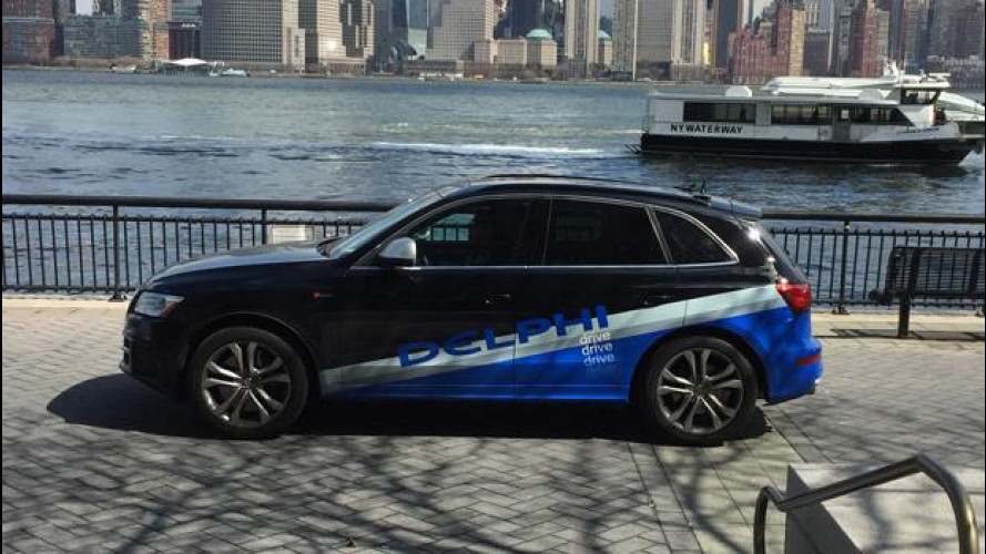 Guida autonoma, impresa compiuta da San Francisco a New York