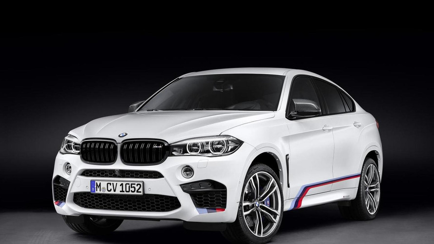 BMW X5 M and X6 M gain M Performance parts