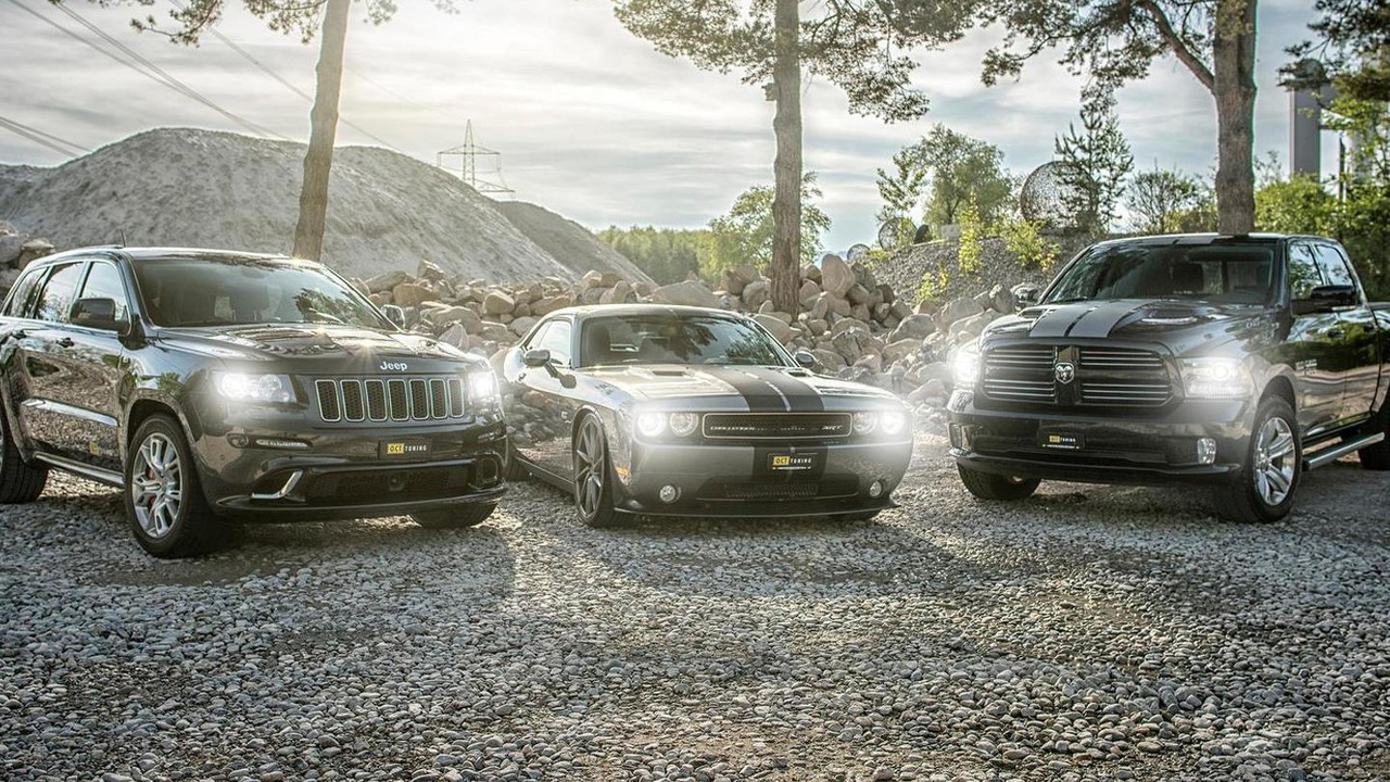 Jeep Grand Cherokee SRT8, Dodge Challenger SRT8 OCTSRT8-700 and Dodge Ram by O.CT Tuning