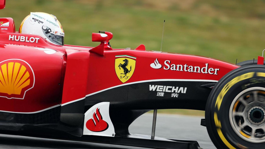 First Ferrari target is a podium - Vettel