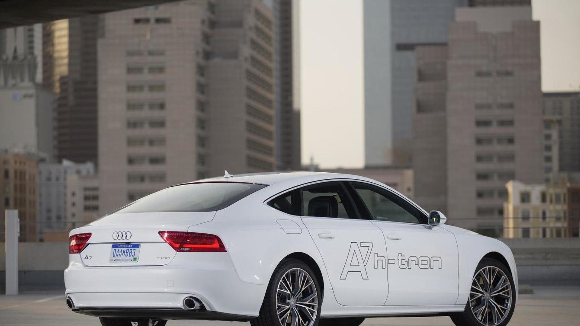 Водородная машина Audi A7 Sportback h-tron quattro
