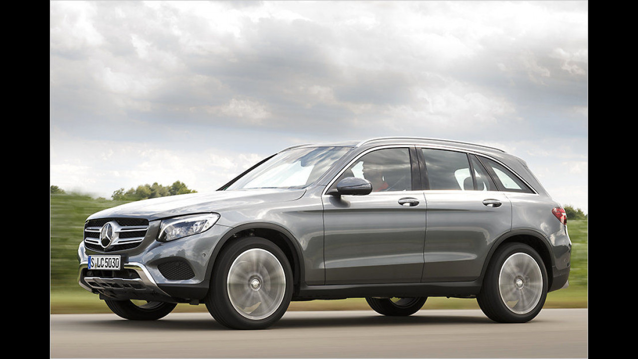 Mittlere SUVs: Mercedes GLC