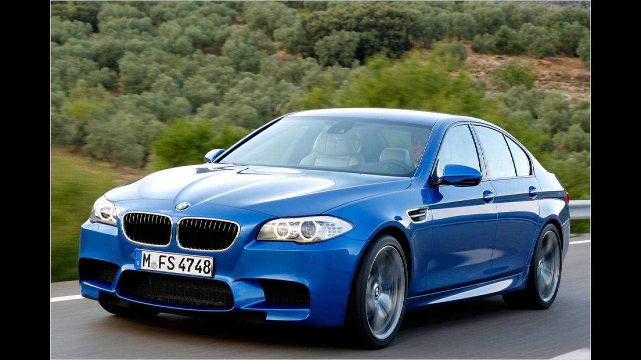 BMW M5: 305 km/h