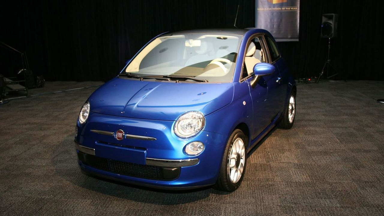 Fiat 500 Declared 2009 World Car Design of the Year at New York Auto Show