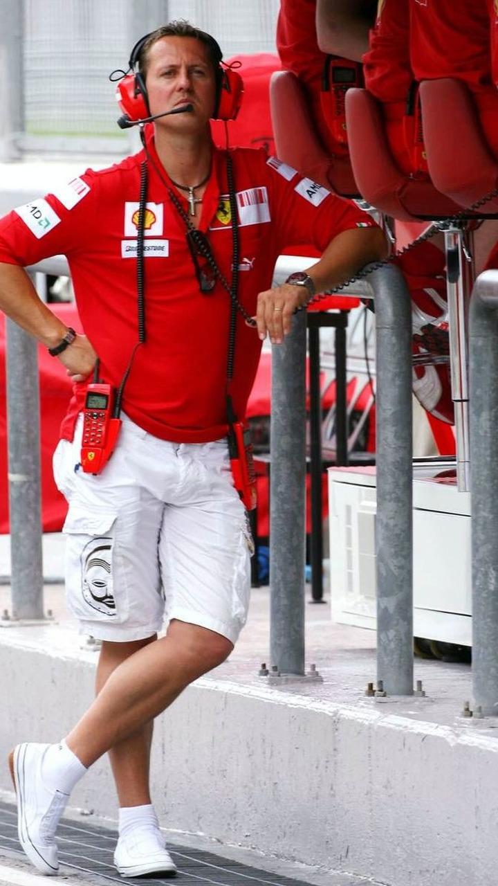 Michael Schumacher at Malaysian Grand Prix 04.04.2009