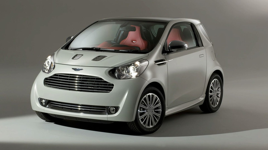 Aston Martin Cygnet Concept - First Full View Images Released