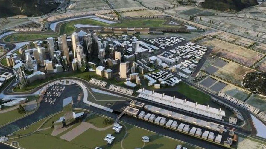 Construction of Korea F1 track city to begin in 2011
