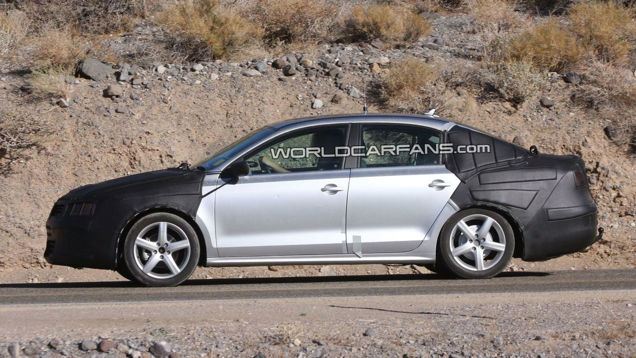 Next generation 2011 VW Jetta prototype spy photo