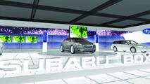 Subaru booth illustration eyelevel, Geneva Auto Salon 2010
