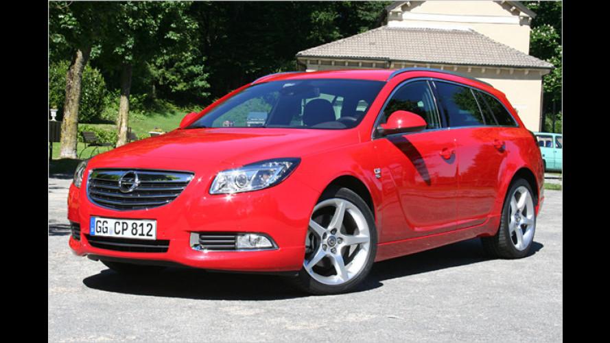 Opel Insignia Sports Tourer: Jetzt kommt der Allrad-Diesel