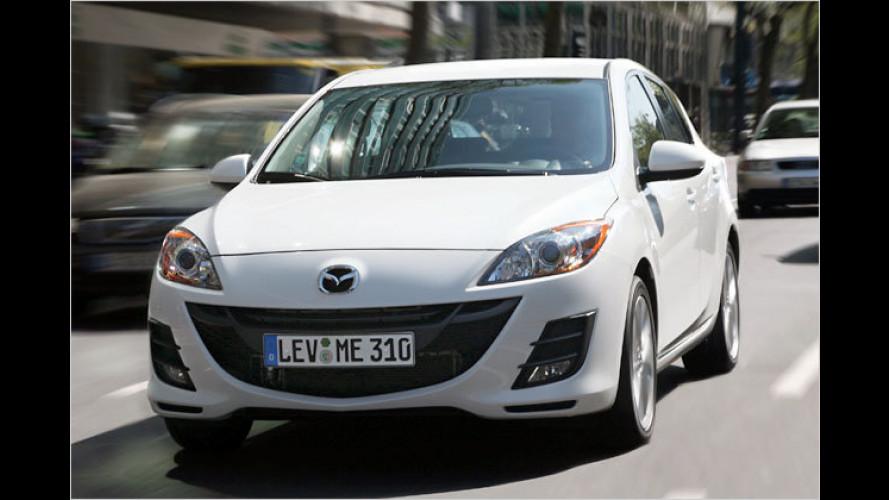Mehr fürs Geld: Mazda 3 Active und Active Plus Sondermodelle