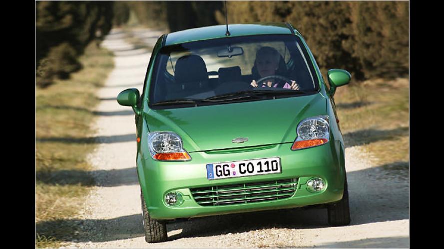 Chevrolet bietet für alle Modelle einen Flüssiggas-Antrieb an